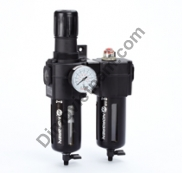 Excelon combination unit (FRL), G1/2, automatic drain, 40µm filter element, without shut-off valve